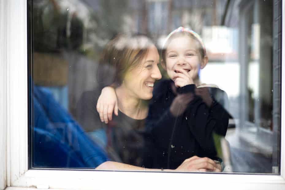 Mahalah Katz with her daughter Tigerlily Katz-Groves