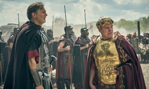 David Morrissey and Steve Pemberton in Britannia.