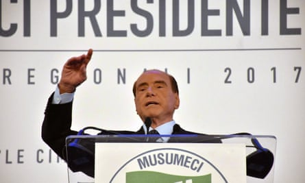 The former Italian prime minister Silvio Berlusconi, who was known to enjoy sex parties with young women while in office, is staging a comeback.