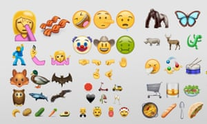 Mock-ups of the 72 new emoji slated for release in Unicode 9.0, made in the Apple style by Emojipedia.