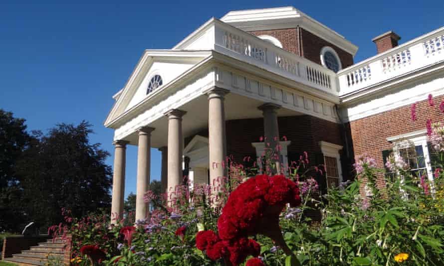 Thomas Jefferson's home, Monticello, in Virginia.