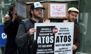 Anti-Atos protestors.