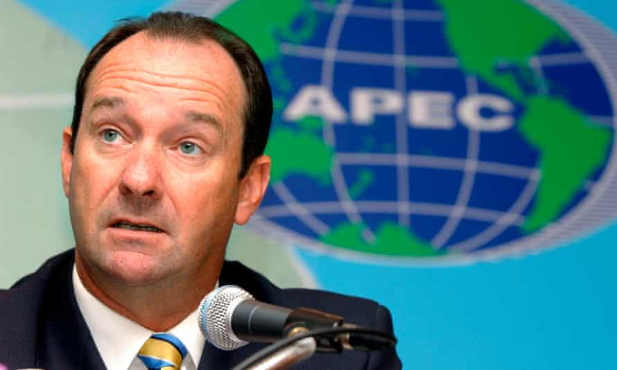 Mark Vaile in 2003, when he was Australia's trade minister