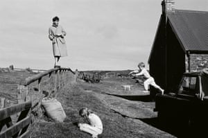 Photograph of Paul, Stella and James taken in Scotland, 1982.