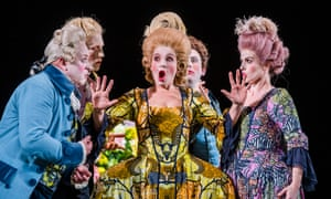 Blunt words … Claire Booth as Berenice, opening the London Handel festival