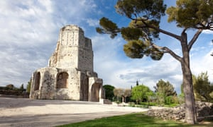 Tour Magne monument in Nimes, in France