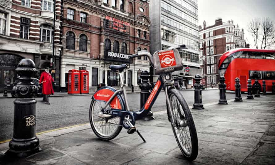Santander's new Boris bike replacement