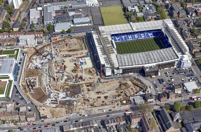 Footballmole Photos From Tottenham 39 S New Stadium