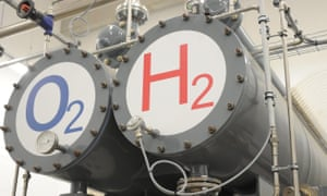 A hydrogen hybrid power plant in Wittenhofe, near Prenzlau, Germany