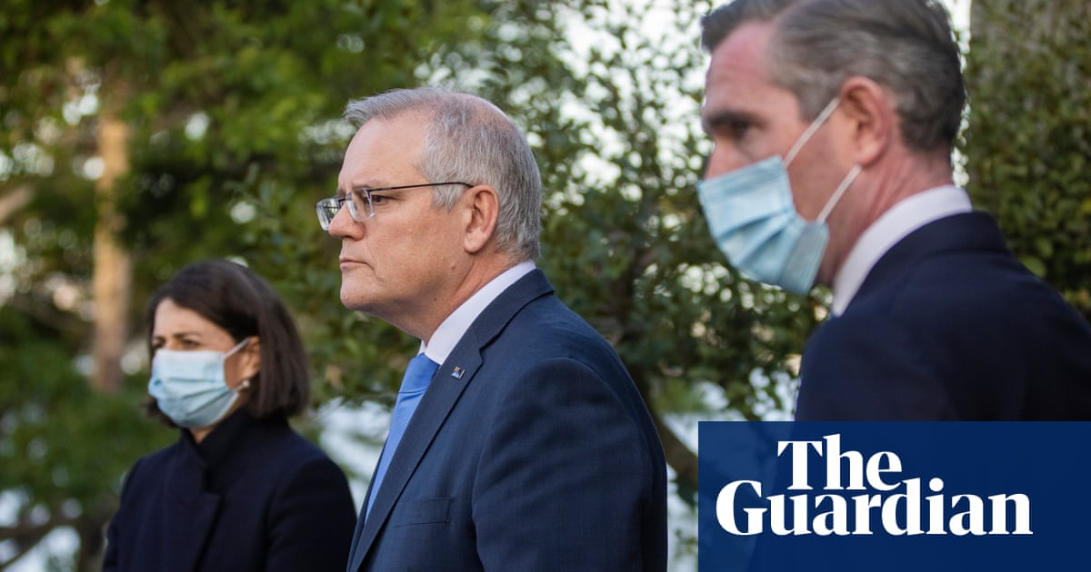 'Peace of mind': Morrison and NSW announce $500m a week support package for locked-down Sydney