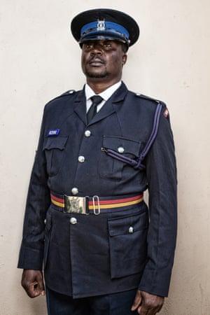 Shortlisted. Policeman: Brian, Nairobi, Kenya 2016. Are You Calling Me a Dog?