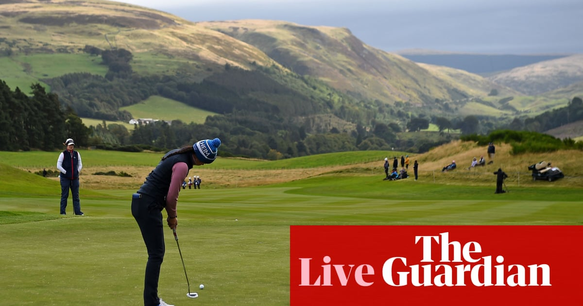 Solheim Cup 2019: Europe 8-8 USA on final day – live!