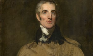 Detail from unfinished portrait of Arthur Wellesley, 1st Duke of Wellington, by Sir Thomas Lawrence (1829)