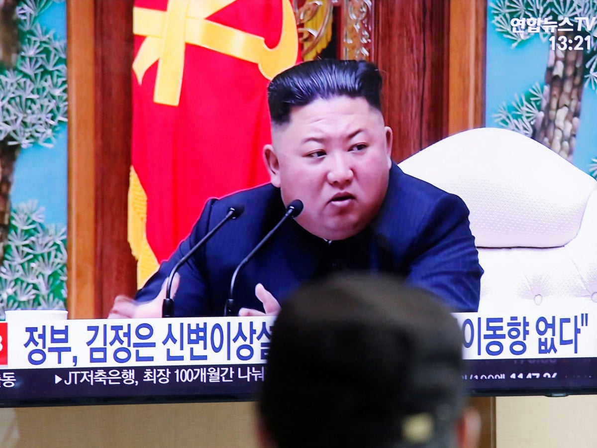 Kim Jong Un Is Alive And Well Says South Korea S Security Adviser World News The Guardian