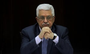 Palestinian president Mahmoud Abbas is enfeebled by dwindling popularity at home.