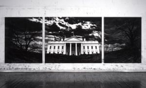 Robert Longo - Untitled (White House), 2019