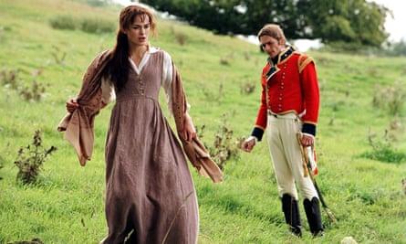 Keira Knightley in Pride & Prejudice.