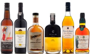 the best Whisky, rum, port and sherry