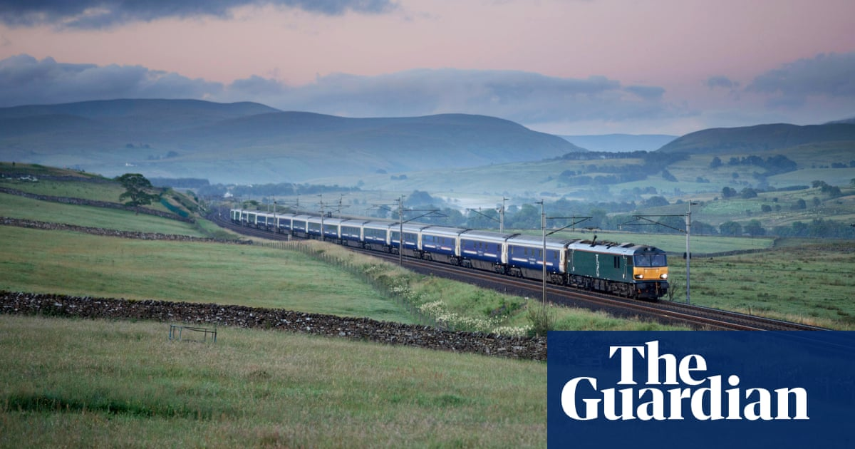 Electric trains offer the best route to greener transport