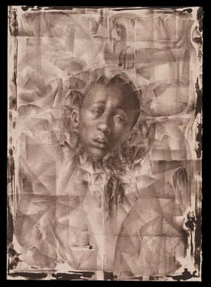 Charles White - Wanted Poster Series #11, 1970