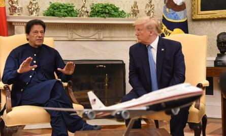 Donald Trump and Imran Khan