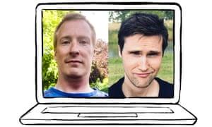Matt (left) and Adam
