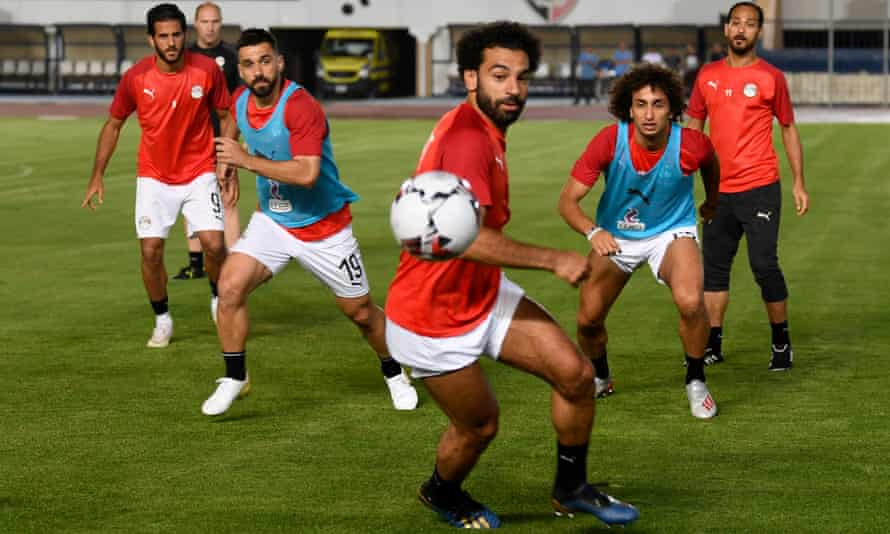 Mohamed Salah heads Egypt's challenge on home soil.
