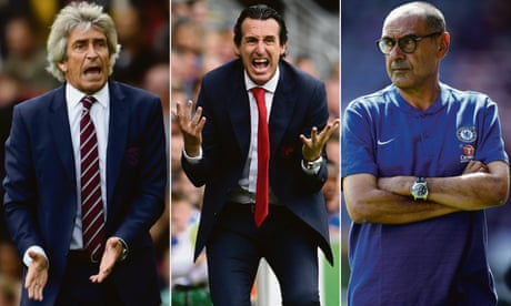 Maurizio Sarri leads way for Premier League newcomers at Chelsea