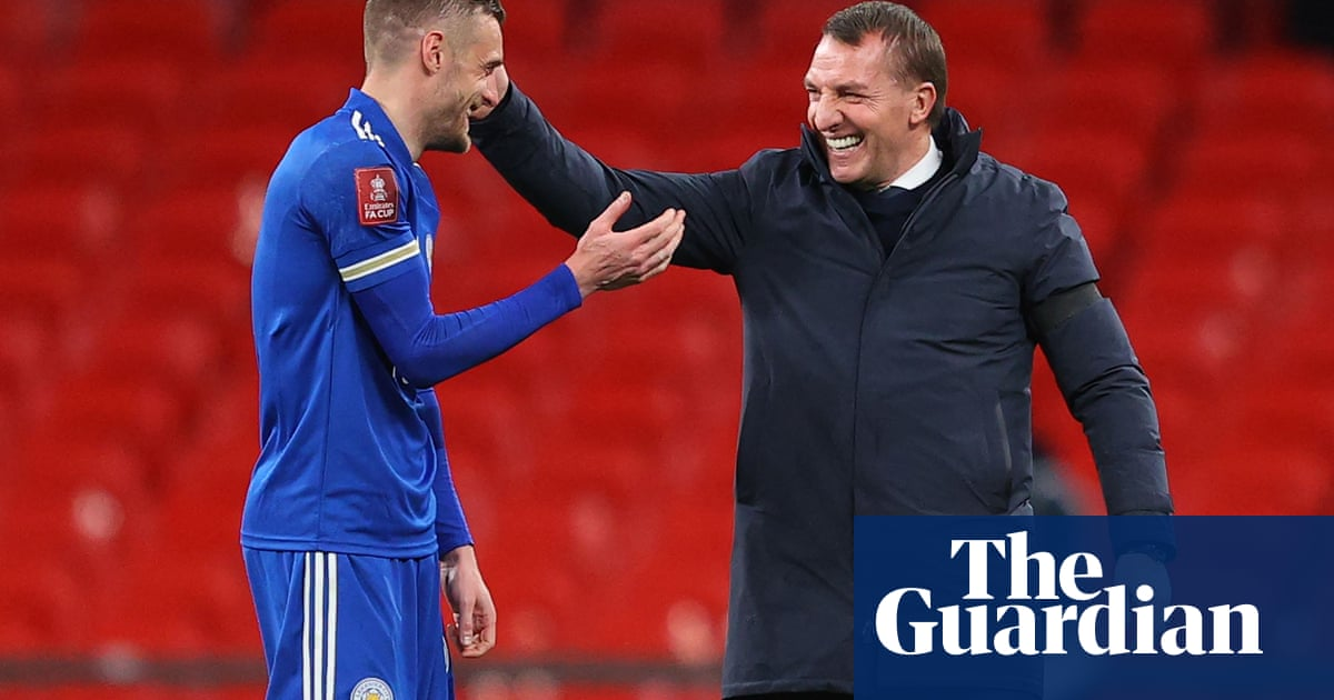 Brendan Rodgers urges Leicester to use FA Cup final as spur for top four finish - the guardian