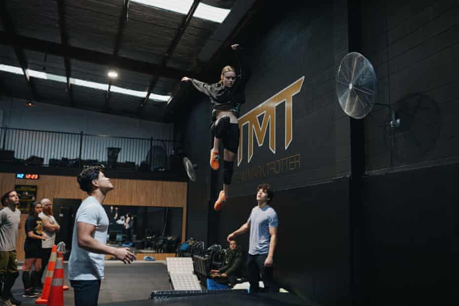 Stunt persone in aria