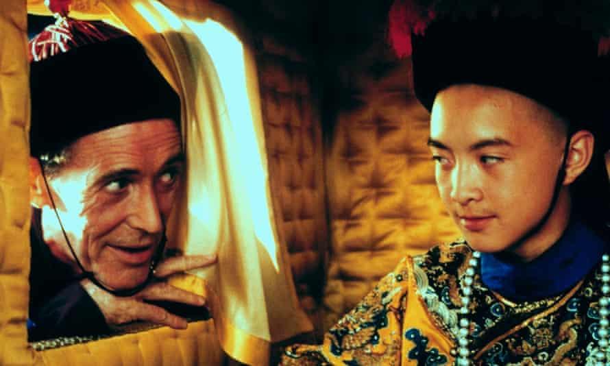 Peter O'Toole and Tao Wu in Bertolucci's Oscar-winning The Last Emperor