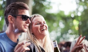 smiling people in scandinavia