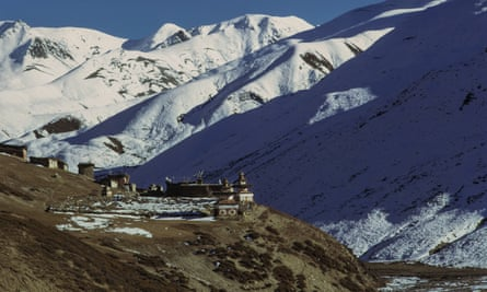 The Shey Gompa, Peter Matthiesson's goal in The Snow Leopard.