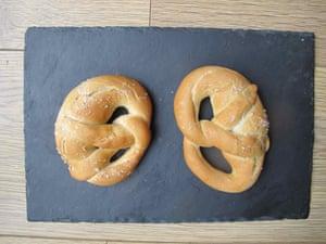 Sebastien Rouxel's pretzels from Thomas Keller: Bouchon Bakery.