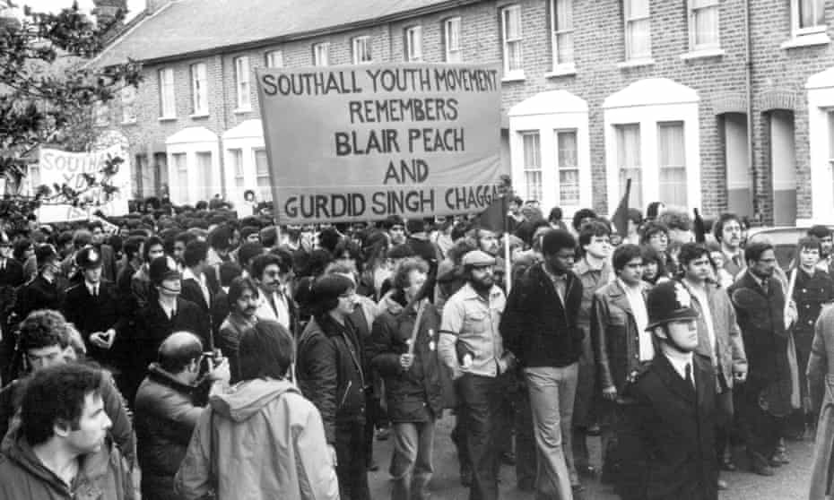 13. Southall Youth Movement march. 1979