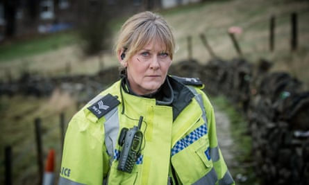 Sarah Lancashire as Sgt Catherine Cawood in Happy Valley.