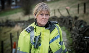 Sarah Lancashire as Catherine Cawood in Happy Valley.