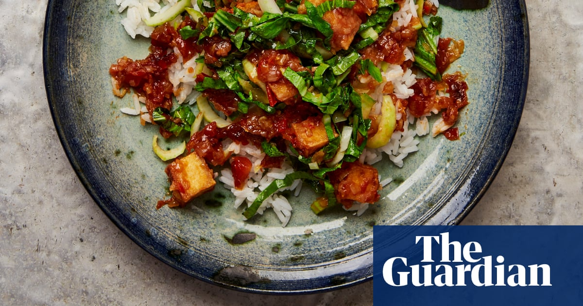 Meera Sodha's recipe for tofu with sweet soy and greens | The New Vegan