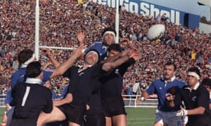 It took rugby union until 1987 to have a World Cup, with New Zealand beating France in the final.