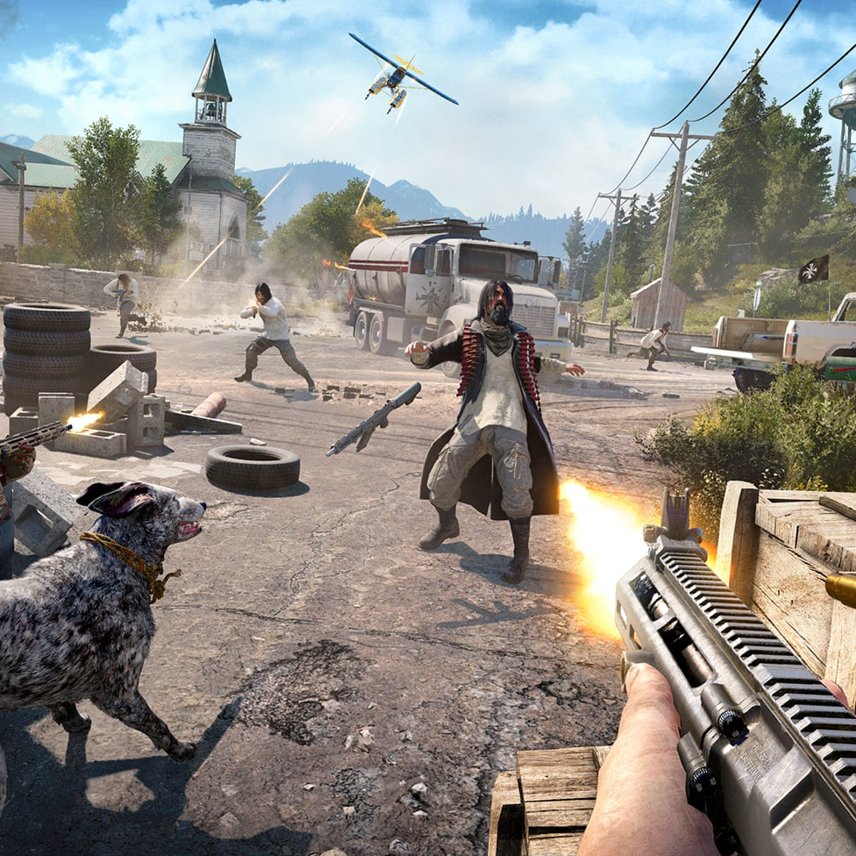 Far Cry 5 Review Cults Chaos And All American Silliness Games The Guardian
