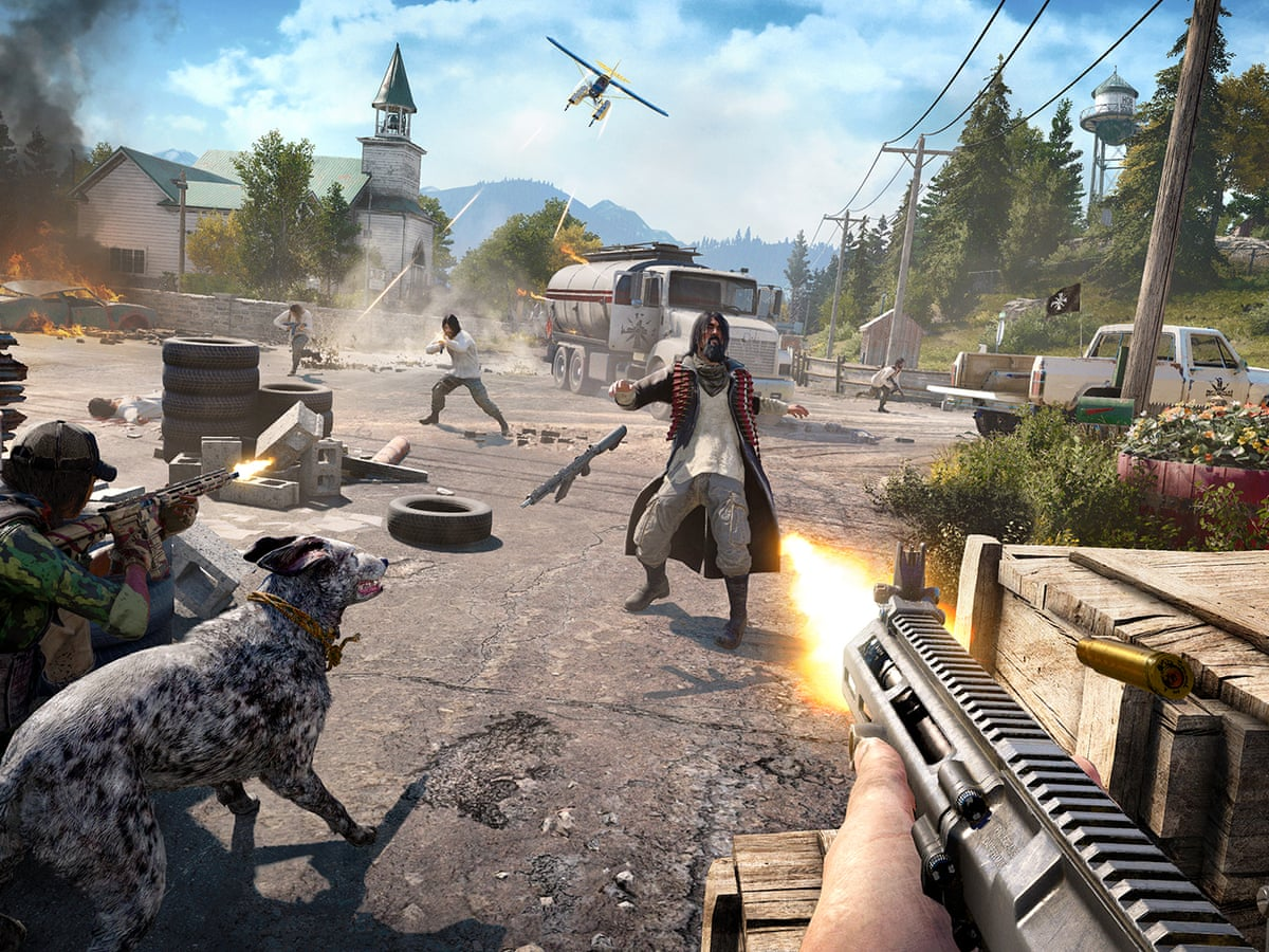 Far Cry 5 Review Cults Chaos And All American Silliness Games