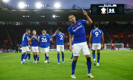 Richarlison lifts Everton's spirits and punishes struggling Southampton