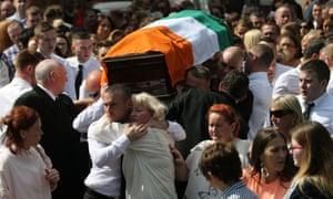 Kevin McGuigan funeral