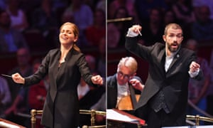 Karina Canellakis conducts the First Night of the Proms; and the BBC Philharmonic's new chief conductor Omer Meir Wellber at Prom 7: 'a statement of intent'.