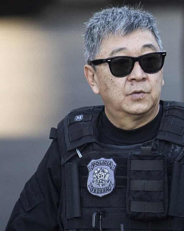 Brazilian police officer Newton Ishii.