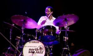 Brian Blade performs at North Sea Jazz Festival, Ahoy, Rotterdam, the Netherlands, 11 July 2015.