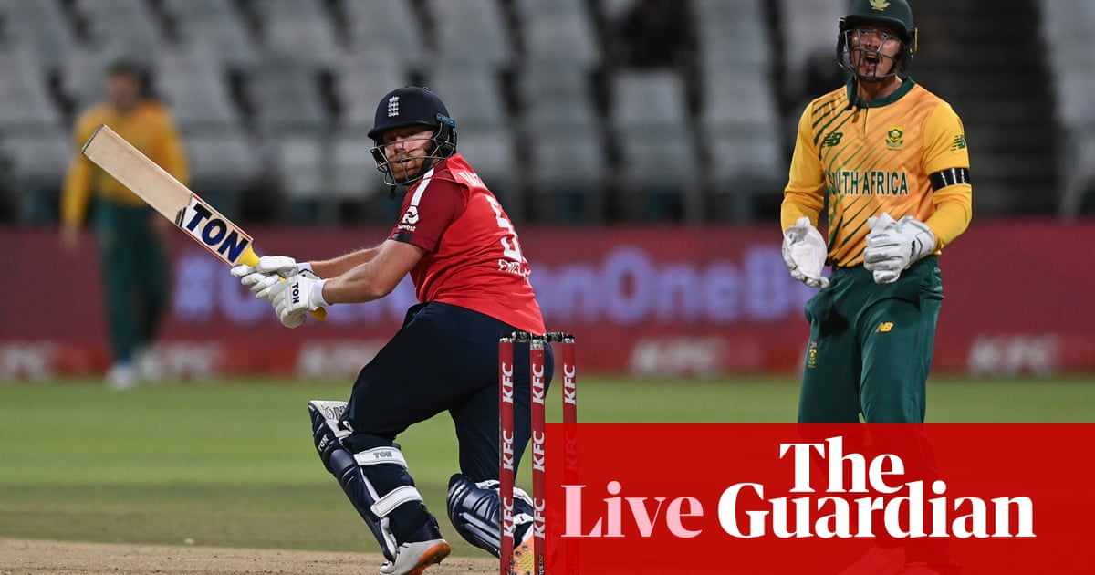 England chasing 180 to beat South Africa: first mens Twenty20 international – live!