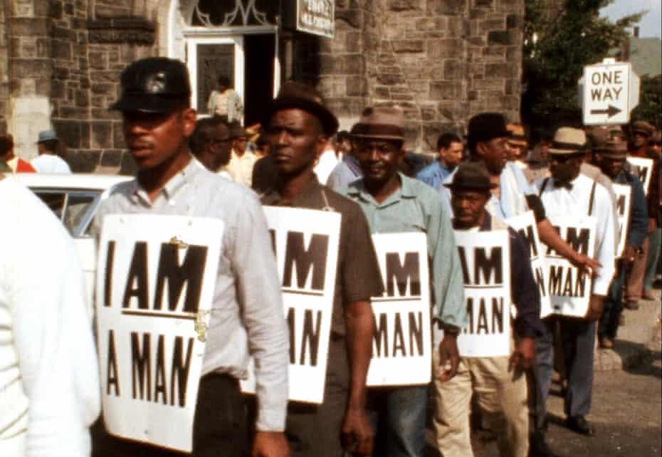 A still from MLK/FBI