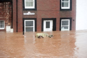 A floating sofa in Appleby