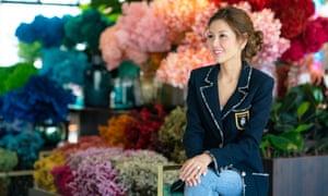 From Goldman Sachs banker to wedding planner. Lelian Chew.
